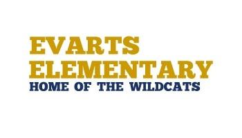 Evarts Elementary School logo